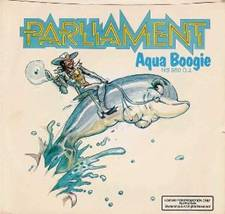 Aqua Boogie album cover by Overton Loyd