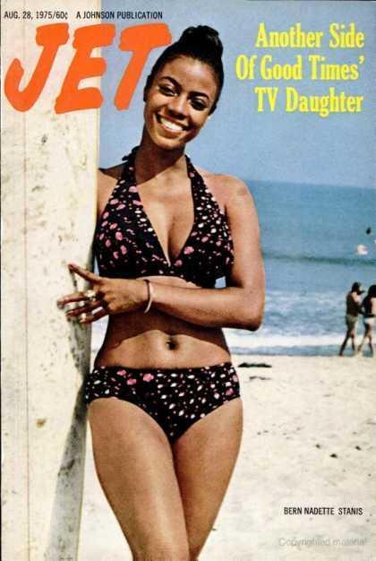 Bernadette Stanis Jet Magazine cover