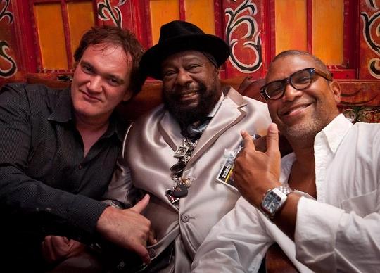 Quentin Tarantino, George Clinton, Reginald Hudlin