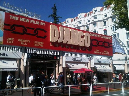Django Unchained at Cannes