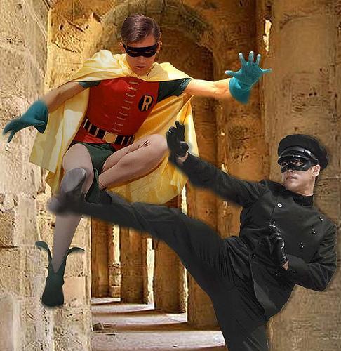 Robin vs. Kato