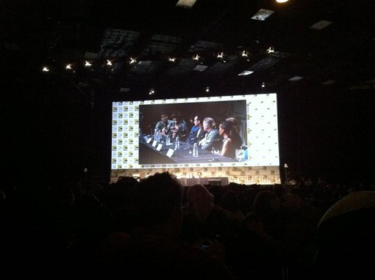 Django Unchained panel at SDCC