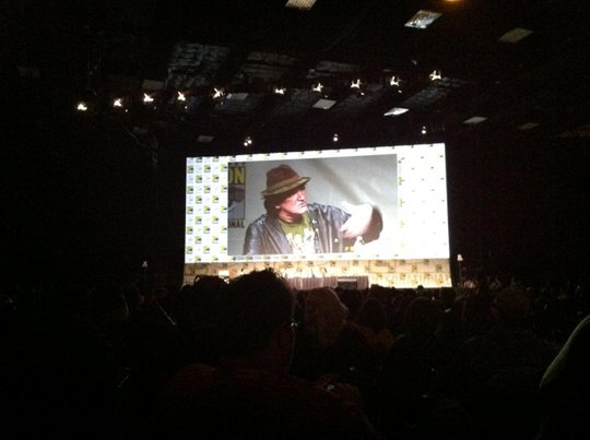 Quentin Tarantino at SDCC