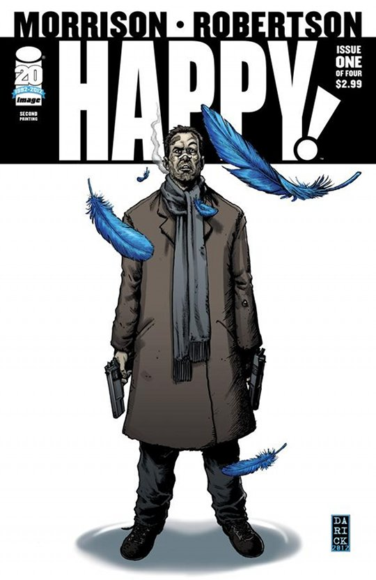 Happy! #1 cover