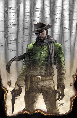Django Unchained #1 variant cover