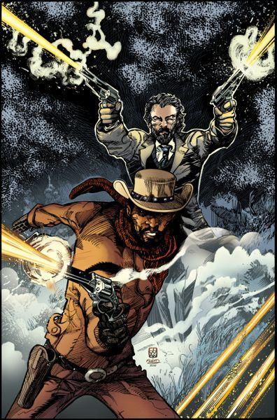 Django Unchained #2 cover