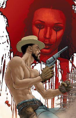 Django Unchained #4 cover