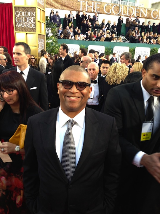 Reginald at the Golden Globe Awards