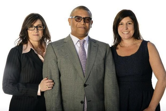 Stacey Sher, Reginald Hudlin, and Pilar Savone