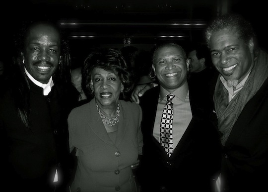 Verdine White, Congresswoman Maxine Waters, Reginald Hudlin, Ali LeRoi