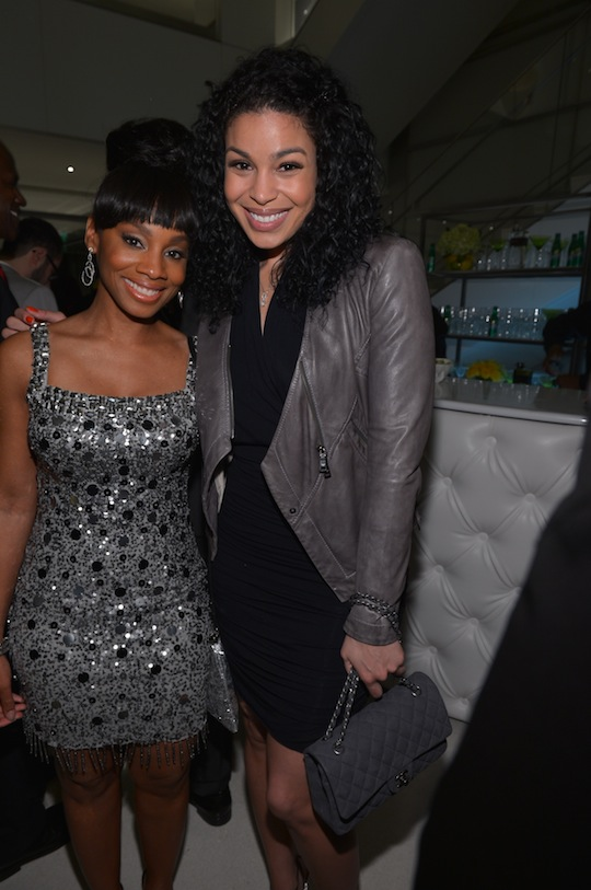 Anika Noni Rose and Jordin Sparks