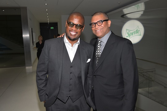 Andre Harrell and Reginald Hudlin