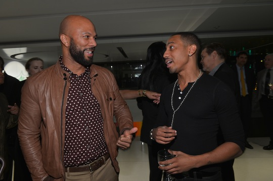 Common and Brandon T. Jackson