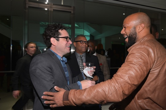 JJ Abrams, Reginald Hudlin, and Common