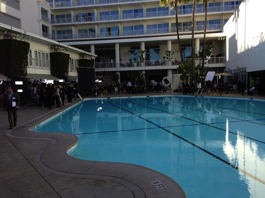 Oscar Luncheon - pool