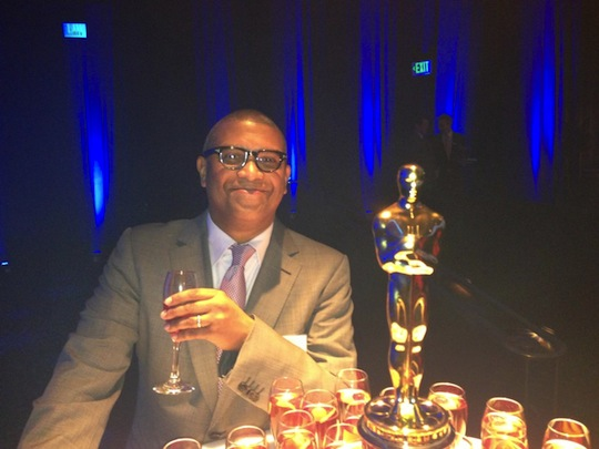 Reginald Hudlin at Oscar Luncheon 2013