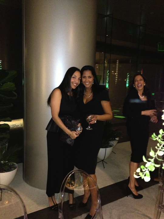 Smiles at CAA/Blackhouse event