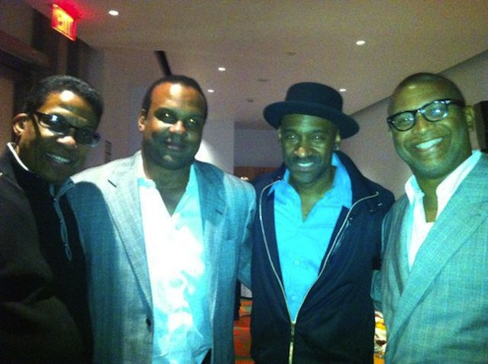 Herbie Hancock, Steve McKeever, Marcus Miller, and Reginald