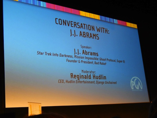 Conversation with J.J. Abrams
