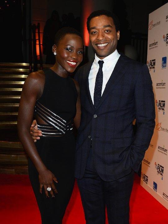 Lupita Nyong'o and Chiwetel Ejiofor