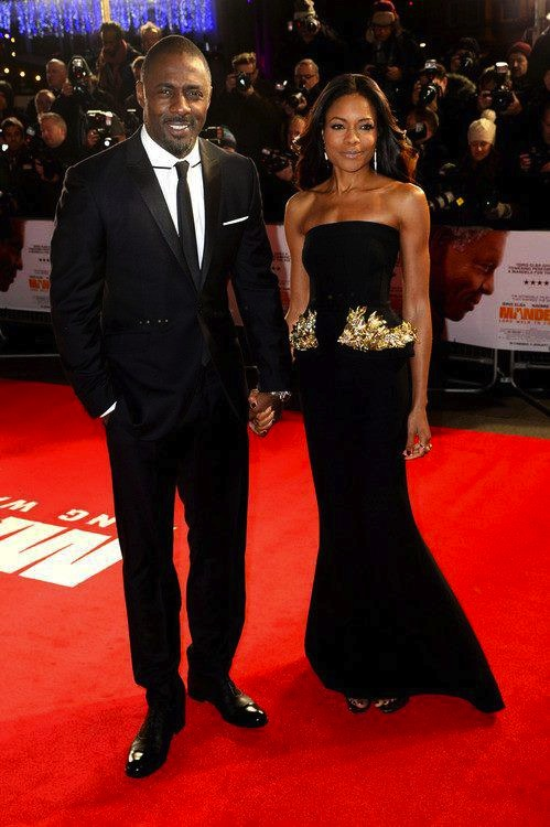 Idris Elba and Naomi Harris