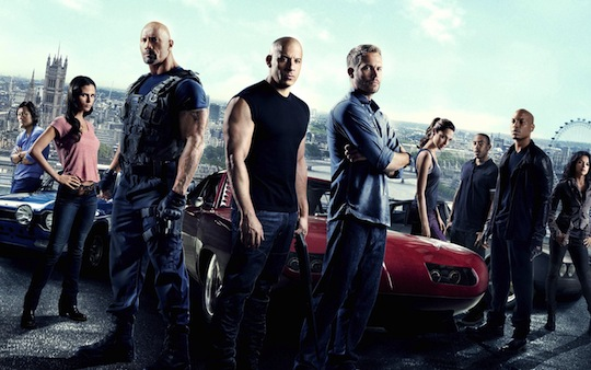 The cast of The Fast And The Furious