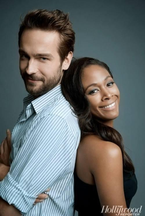 Sleepy Hollow stars Tom Mison and Nichole Berharie