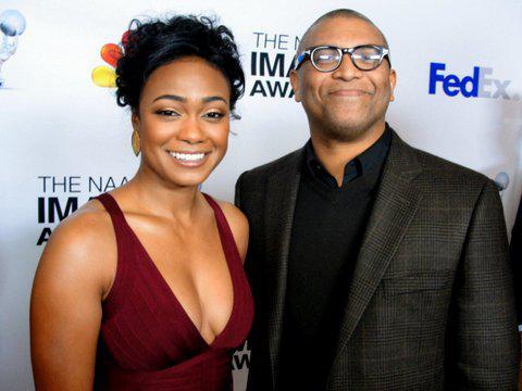 Tatiyana Ali and Reginald Hudlin at the 2013 NAACP Image Awards nominees luncheon