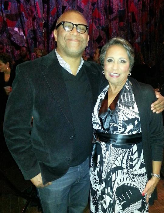 Reginald Hudlin and Cathy Hughes