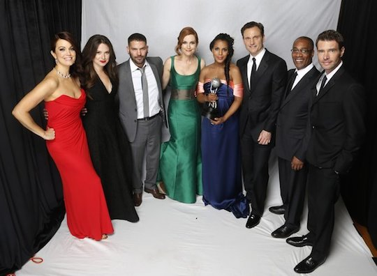 "Cast of ""Scandal"""