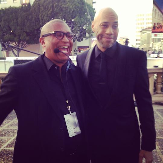 Reginald and John Ridley at NAACP Image Awards