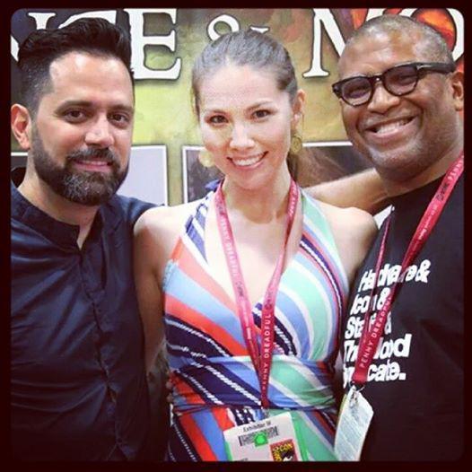 Edgardo Miranda-Rodriguez, Marjorie Liu, and Reggie