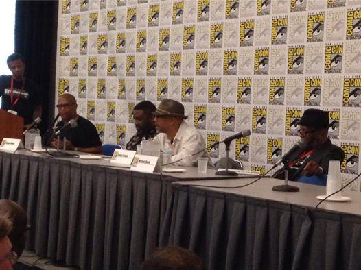 Milestone panel at Comic-Con