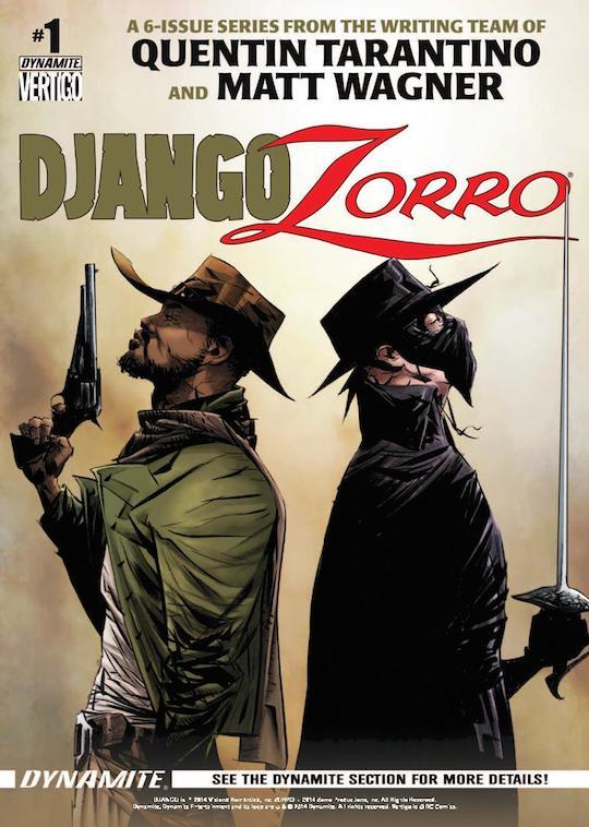 Django Zorro #1 cover