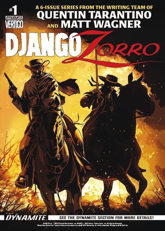 Django / Zorro #1 alt cover