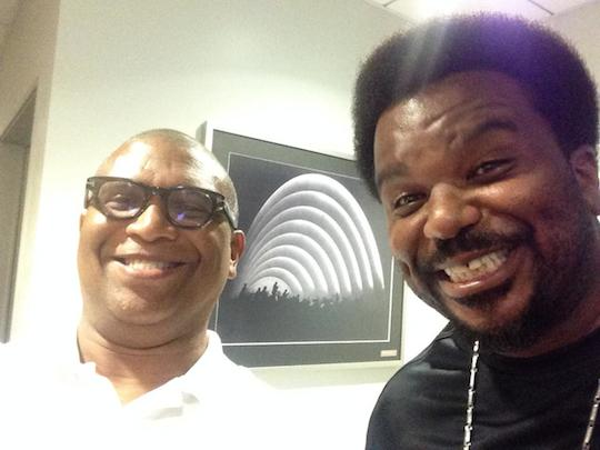 Reggie and Craig Robinson