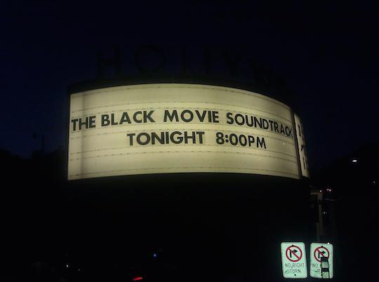 Hollywood Bowl Marquis