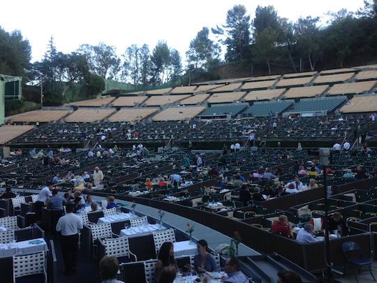 Pre-show at the Hollywood Bowl