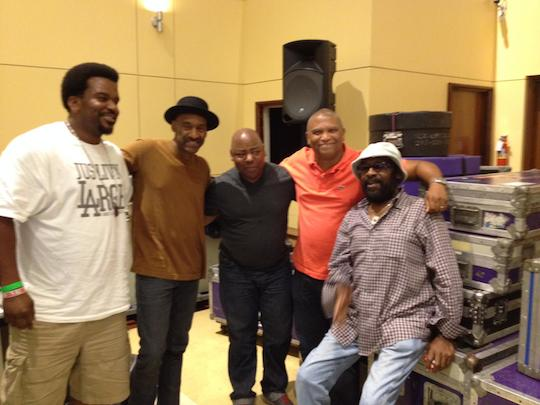 Craig Robinson, Marcus Miller, Paul Jackson Jr., Reggie, Wah Wah Watson