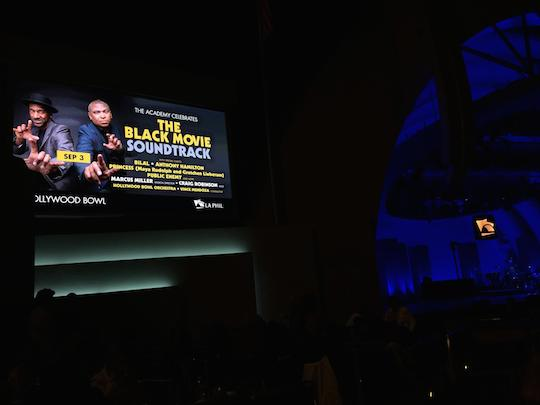 The Academy Celebrates The Black Movie Soundtrack