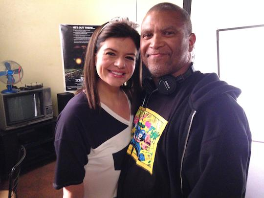Casey Wilson and Reginald Hudlin