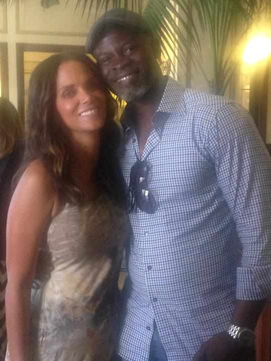 Halle Berry and Djimon Honsou