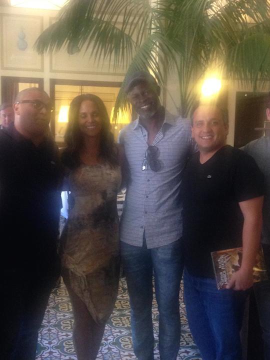 Reggie, Halle Berry, Djimon Honsou, Russo