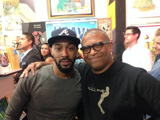 Tone Bell and Reginald Hudlin