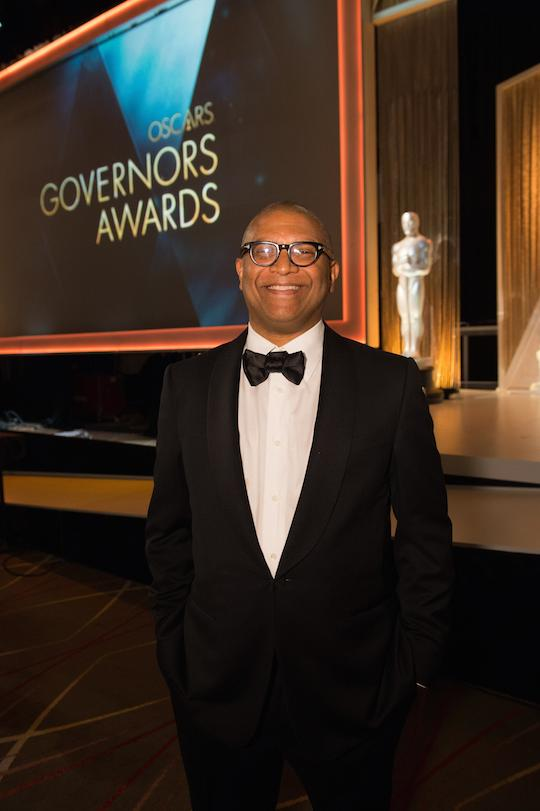 Reggie at Governers Awards