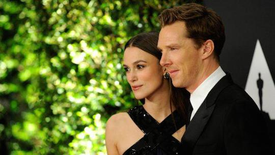 Keira Knightly and Benedict Cumberbatch