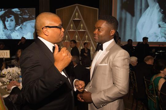 Reggie and David Oyelowo