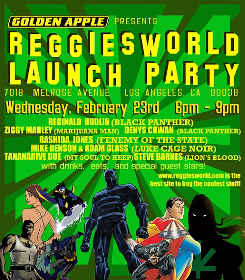 REGGIESWORLD Launch Party2