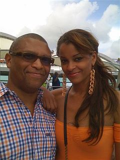 Reggie and Claudia Jordan