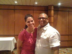 Reggie and Soledad O'Brien